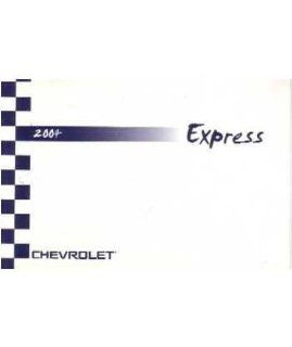2004 Chevrolet Express Van Owners Manual User Guide Reference Operator