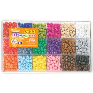 Giant Bead Box Kit 2300 Beads/Pkg Crayon Today $19.99