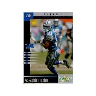 2003 Score #185 Az Zahir Hakim: Collectibles
