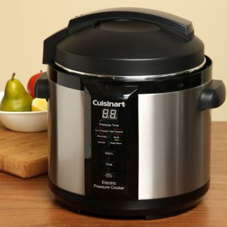 Cuisinart CPC 600FR 1000 watt 6 quart Electric Pressure Cooker