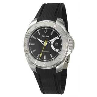 Bulova Accutron Mens Curacao Stainless Steel Swiss Automatic Watch