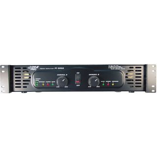 PylePro 19 inch Rack Mount 3200 Watt Power Amplifier