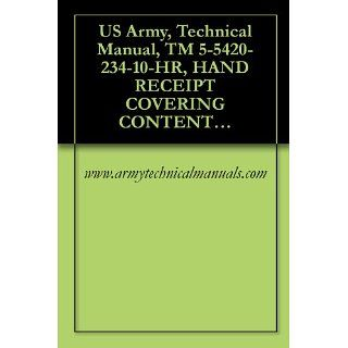 US Army, Technical Manual, TM 5 5420 234 10 HR, HAND