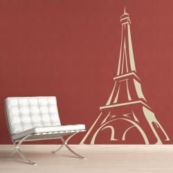 Vinyl Letter Decor Eiffel Tower 33.5 inch Vinyl Wall Decal