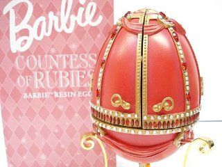 Barbie Countess Of Rubies Musical Resin Egg by Avon Toys