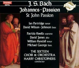 Bach St. John Passion, BWV 245 Michael George, David