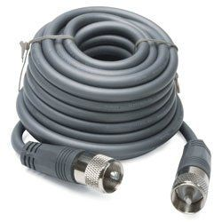 Coax Cable With PL 259 Connectors Gray Shielding Coverage Electronics