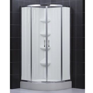 DreamLine 36x36 inch Clear Glass Shower Kit