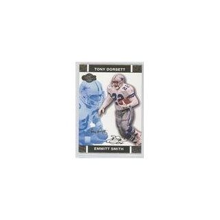 Emmitt Smith/Tony Dorsett #258/349 Dallas Cowboys (Football Card) 2007