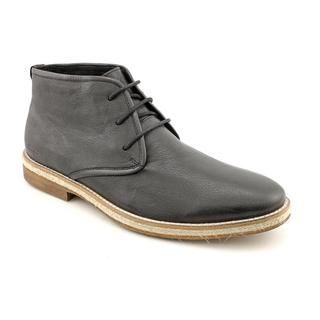 Kenneth Cole NY Mens Braid Up Leather Boots