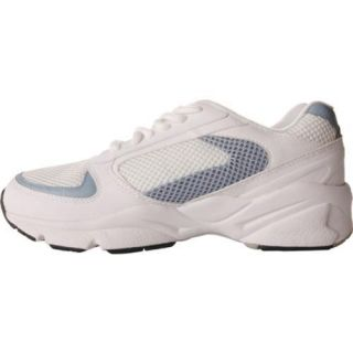 Womens Propet Steady Walker White/French Blue