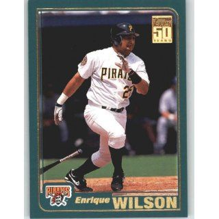 2001 Topps #273 Enrique Wilson   New York Yankees (Baseball Cards)