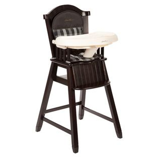 Eddie Bauer Classic High Chair in Evergreen