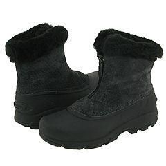 Sorel Snow Angel Zip Dark Charcoal Low Boot