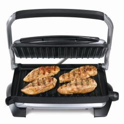 Hamilton Beach 25324 10x10 inch Nonstick Indoor Grill with Panini