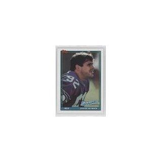 Wyman Seattle Seahawks (Football Card) 1991 Topps #269 Collectibles