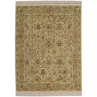 Persian Empire Beige Wool Rug (710 x 116)
