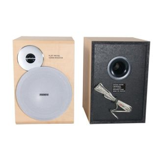 Philips MCM7 MP3 Micro Shelf System Speakers (Set of 2) (Refurbished