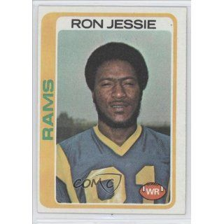 Jessie Los Angeles Rams (Football Card) 1978 Topps #283 Collectibles