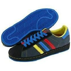 adidas Originals Superstar II Gray/Red/Yellow/Black/Blue