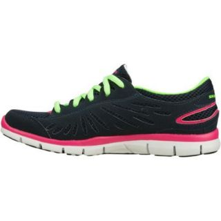 Womens Skechers Gratis Purestreet Navy/Multi
