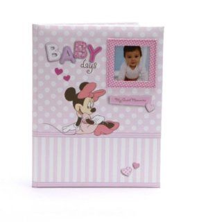 Disney Minnie Mouse Baby Girl Keepsake Record Memory Book