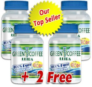 Green Coffee Ultra 100% PURE Green Coffee Bean Extract