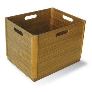 Teak Wood File Box