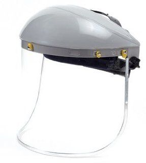 Face Shield Advantage 301 Series Crown & Window with Slotted Hard Hat
