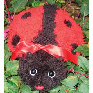Huggables Ladybug Stuffed Toy Latch Hook Kit Today: $22.12