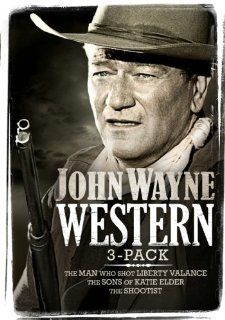 John Wayne Western Three pack (The Man Who Shot Liberty