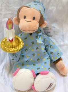 18 Plush Curious George Night Time Monkey Doll Toy