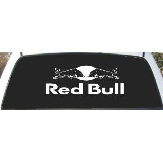 Red Bull Rear Window Decal sticker 9 X 24 Everything Else