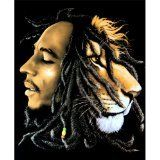 Bob Marley Lion Royal Plush Raschel Queen Size Throw