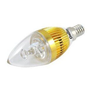 Onite LED E14 110V 3W Candelabra Light Bulb,Wall light, Warm White