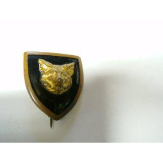 Vintage Cub Scout with Wolf Head on Plaque Lapel Pin