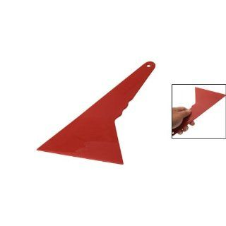 Amico Red Plastic Car Window Flim Tint Bubble Scraper Tool