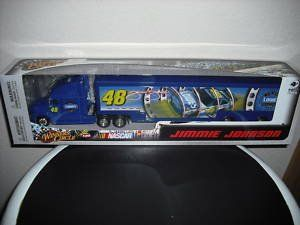 Jimmie Johnson #48 Lowes Hauler Tractor Trailer Semi Rig