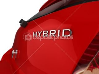 Hybrid Car  Foto Stock © David Humphrey #2429550