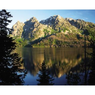 Christina Tisi Kramer Lake Tetons Gallery wrapped Canvas Art