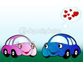 Cartoon car  Stock Vector © Sarka Pistekova #2421520