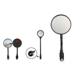 Flexible Back Rear View Mirror for Bicycle (9 inch)