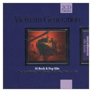Vietnam Generation 36 Rock & Pop Hits Various Artists