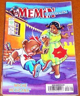 Memin Pinguin Comic Book in Spanish No.329 Noche Mexicana (2008