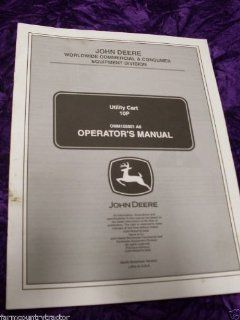 John Deere 10P Utility Cart OEM OEM Owners Manual John
