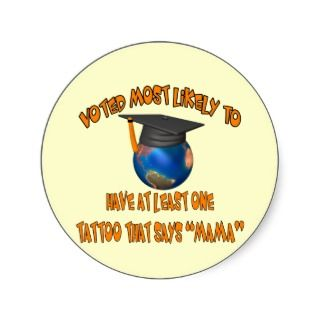 Funny Graduation Stickers, Funny Graduation Sticker Designs