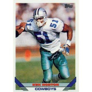 1993 Topps #323 Ken Norton   Dallas Cowboys (Football