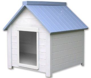 NewAgePet Medium All Weather Insulated Dog House  Bunk