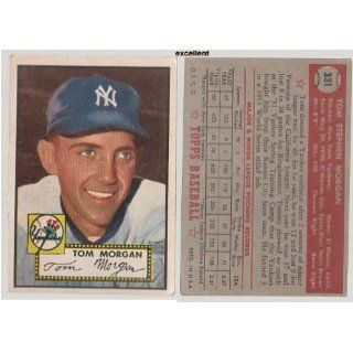 1952 Topps Regular (Baseball) Card# 331 Tom Morgan of the
