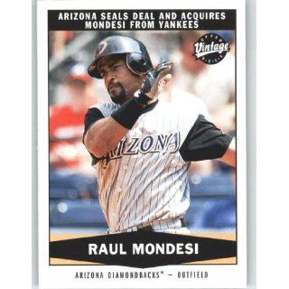 2004 Upper Deck Vintage #335 Raul Mondesi TR   New York